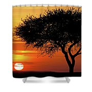 Good Night, Maasai Mara Shower Curtain