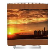 Good Night Sun Shower Curtain