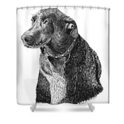 Good Old Charlie Shower Curtain