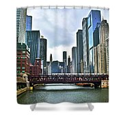 Good Old Chicago Shower Curtain