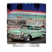 Good Ole Days Shower Curtain