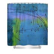 Good Vibrations Three Shower Curtain