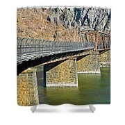 Goodloe E. Byron Memorial Footbridge Shower Curtain