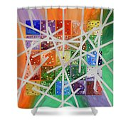 Goodness Knows Shower Curtain