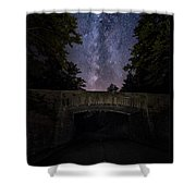 Goodnight Acadia Shower Curtain