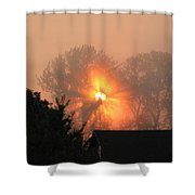 Goodnight Kiss Shower Curtain