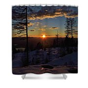 Goodnight Montana Shower Curtain