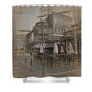 Goody Glovers Irish Pub - Boston Shower Curtain