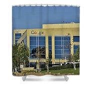 Google Orange County Shower Curtain