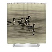 Goose Bumps Shower Curtain