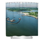 Goose Island Shower Curtain
