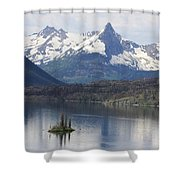 Goose Island Shower Curtain