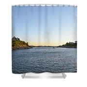 Goose Neck Cove - Newport Rhode Island Shower Curtain