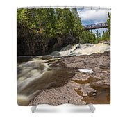 Gooseberry Fifth Falls 9 Shower Curtain