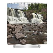 Gooseberry Middle Falls 24 Shower Curtain