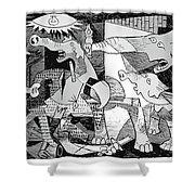 Gop Guernica Shower Curtain