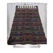 Gopuram Shower Curtain