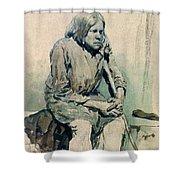 Gorbun2 1881 Ilya Repin Shower Curtain