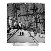 Gorch Fock ... Shower Curtain