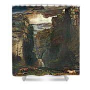 Gordale Scar Shower Curtain