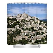 Gordes Provence France Shower Curtain