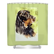 Gordon Setter Shower Curtain