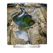 Gorge Trail In Autumn Watkins Glen Shower Curtain