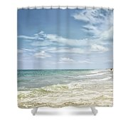 Gorgeous Day At The Seashore Shower Curtain