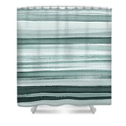 Gorgeous Grays Abstract Interior Decor I Shower Curtain