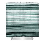 Gorgeous Grays Abstract Interior Decor II Shower Curtain