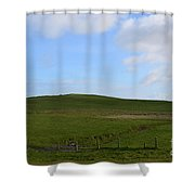 Gorgeous Rolling Hills And Fields On The Cliff's Of Moher Shower Curtain