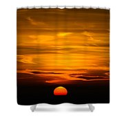 Gorgeous Sunset Shower Curtain