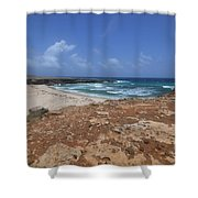 Gorgeous View Of Deserted Daimari Beach Shower Curtain