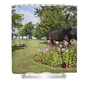 Gorham New Hampshire Usa Shower Curtain
