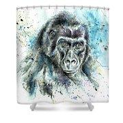 Gorila2 Shower Curtain
