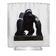 Gorilla Art Shower Curtain