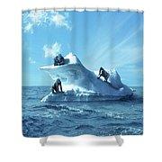 Gorilla Shower Curtain