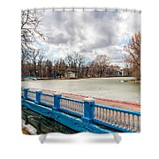 Gorky Park In Winter Shower Curtain