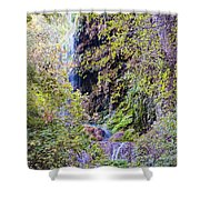 Gorman Falls At Colorado State Park IIi - San Saba Texas Hill Country Shower Curtain