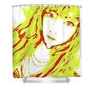 Goshikku Gyaru Shower Curtain