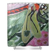 Gossamer Wings  The Dragonfly Series I Shower Curtain