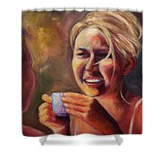 Gossip Shower Curtain