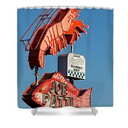 Got Shrimp 3 Shower Curtain