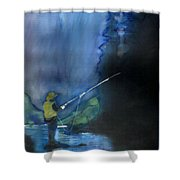 Harvest Time In Wyoming Shower Curtain