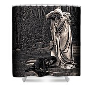 Goth At Heart - 3 Of 4 Shower Curtain