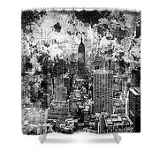 Gotham Castles Shower Curtain