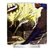 Gotham Nights  Shower Curtain