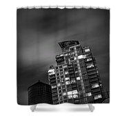 Gotham Rooftop Shower Curtain