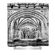 Gothic Architecture At Princeton University  Princeton New Jersey Shower Curtain