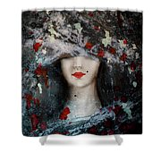 Gothic Beauty Shower Curtain